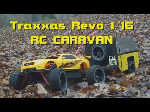 RC Scale Caravan Trailer für 20 Euro - Teil Part 4/4 : Revo Test Run  - Darconizer RC