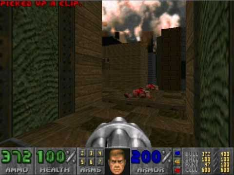 Let s Play  Doom 2  Map15    Industrial Zone   YouTube