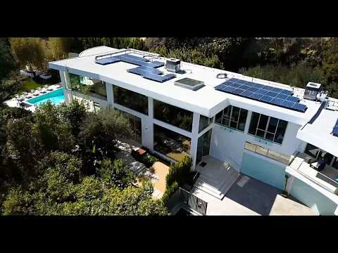 Beautiful hillside property with views to West Hollywood