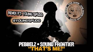 THATS ME PEBBELZ AND SOUND FRONTIER REMIX FT. YOUNG SPUDD VIDEO MIX IN