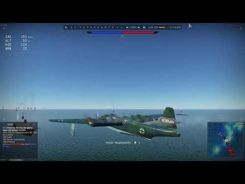 Landing BV 238 on Carrier