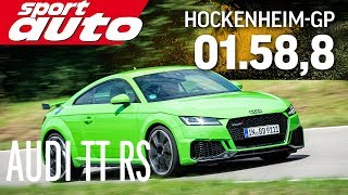 Audi TT RS | Hot Lap Hockenheim-GP | sport auto
