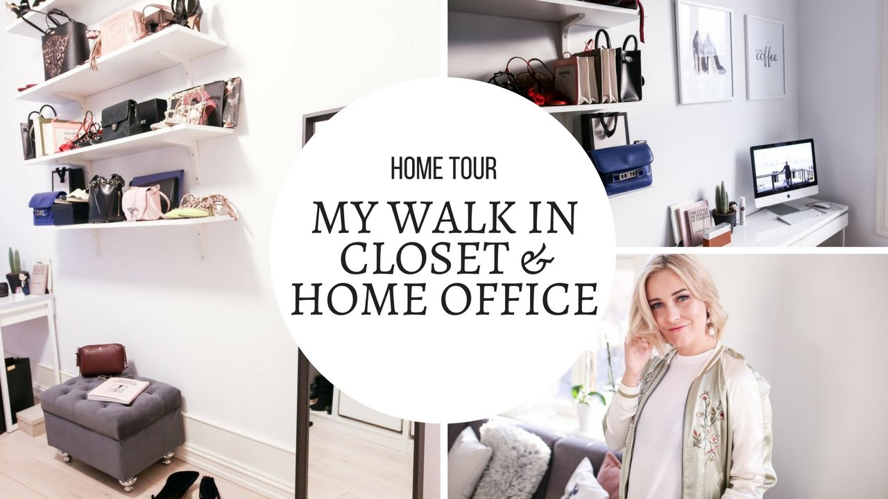 Closet Home Office Tour I Kaja Marie