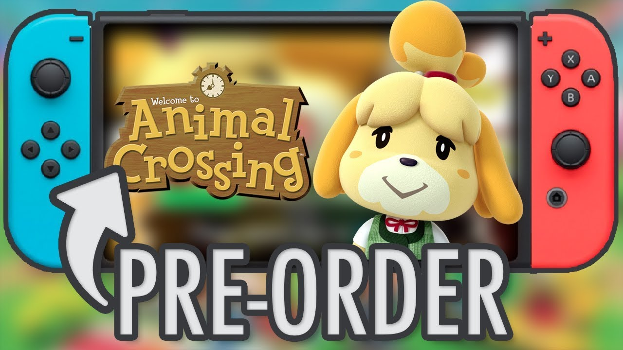 Animal Crossing Switch Pre Order Youtube