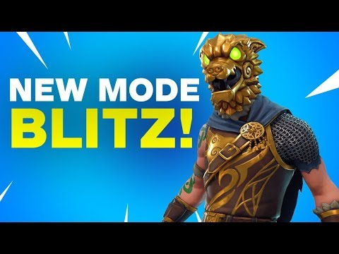 Fortnite: The New Blitz Game Mode Explained