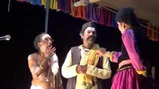 Yakshagana -- Dhee shakthi - 9 - Hasya - Purandara moodkani as Huliyanna - 2