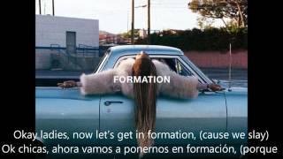 Beyonce - Formation (Lyrics on Screen) (Traducida Español) (Explicada)