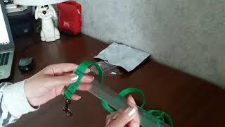 Поводок для собаки с AliExpress. Dog leash with AliExpress.