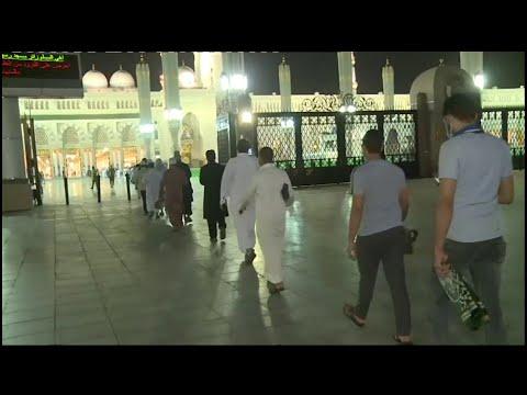 بعد تعليق دخولهم لشهرين ونصف.. شاهد توافد المصلين على المسجد النبوي اليوم  - 09:59-2020 / 5 / 31