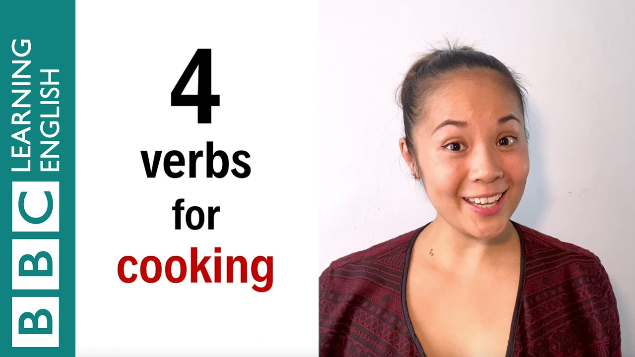 4 verbs for cooking - English In A Minute