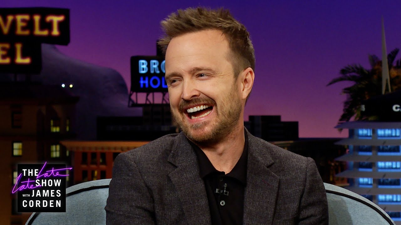 Aaron Paul Needs Help with His Hands