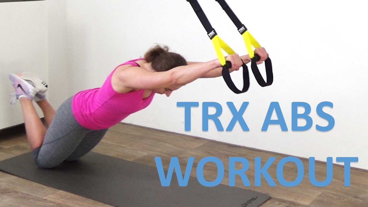 Trx Abs Workout 10 Minute Trx Suspension Exercises For Your Abs Youtube