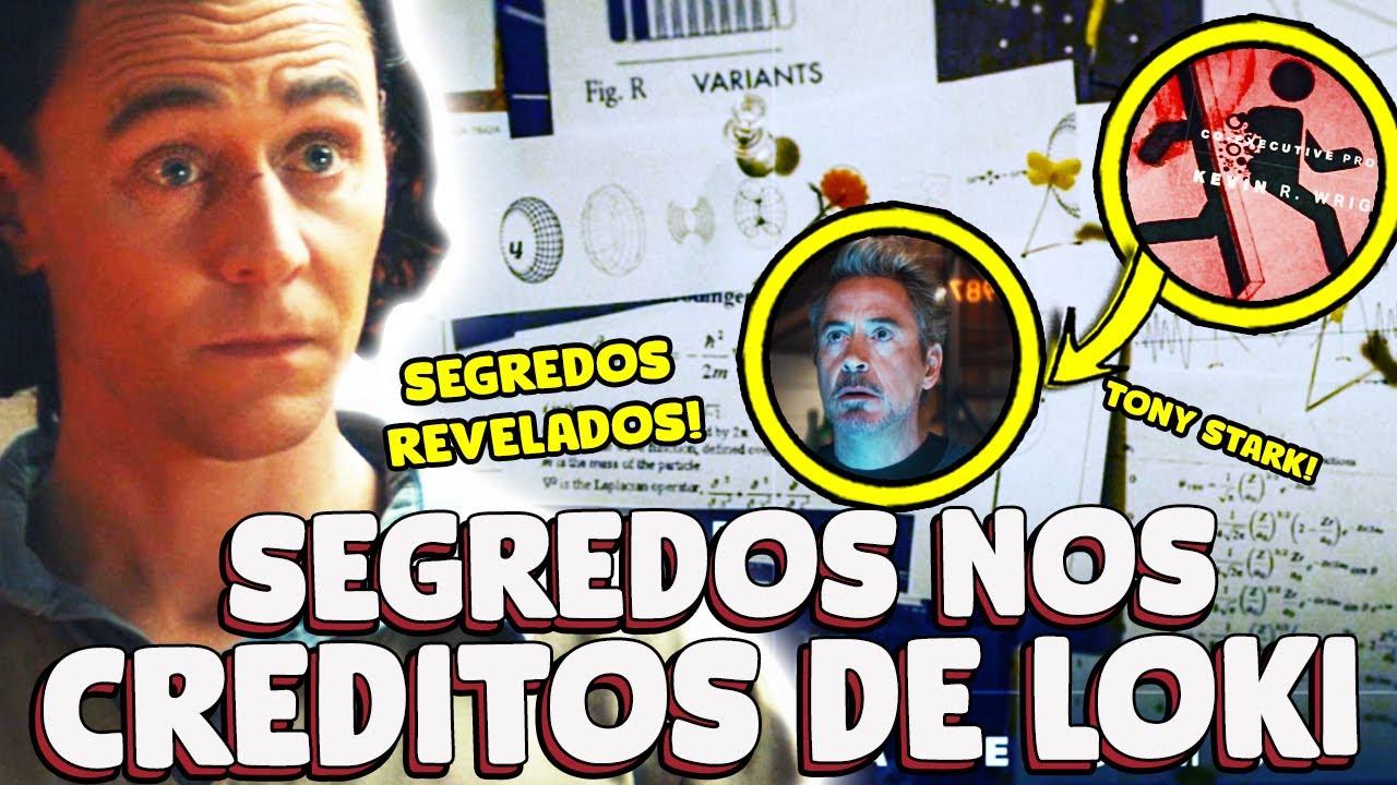 15 SEGREDOS ESCONDIDOS NA CENA CRÉDITOS DE LOKI!
