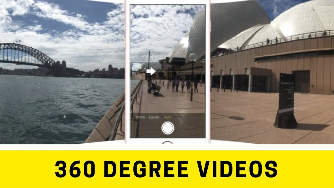 ✹ 360 Degree Video iPhone ✹ How to take 360 degree videos on iPhone ✹
