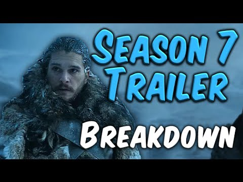 Game of Thrones Season 7 Trailer 2 Breakdown!