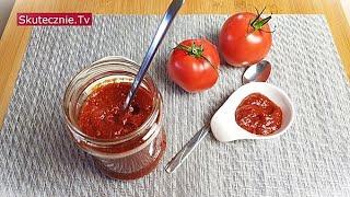 Szybki domowy ketchup (bez cukru) :: Skutecznie.Tv