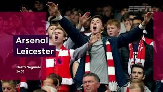 Acompanhe Arsenal X Leicester City, às 16h pela 9ª rodada de Premier League