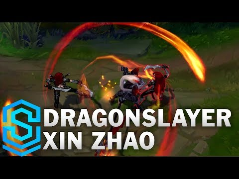 Dragonslayer Xin Zhao (2017) Skin Spotlight - League of Legends