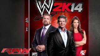 "The cover of ""WWE 2K14"" is revealed: Raw, June 24, 2013"