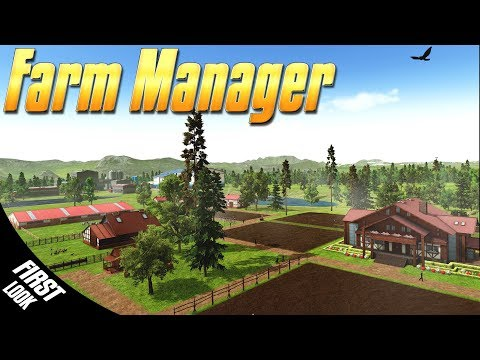 NEW FARMING GAME! - Farm Manager 2018 - Simul8 Gaming