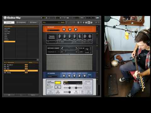Guitar Rig Live Looping Perfomance