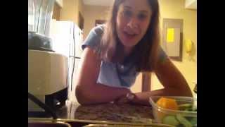 Day 5- Creamy Cucumber-orange Dressing On Salad- Raw Vegan