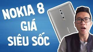 """Nokia 8 giá siêu """"sốc"""", vô đối chính hãng"""