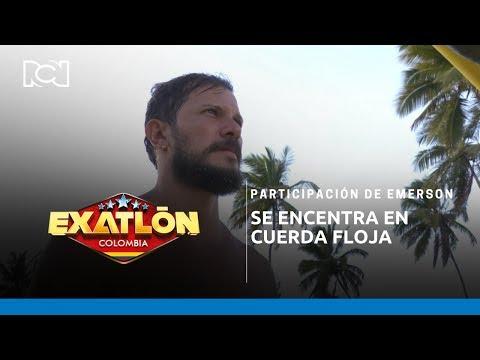 Participación De Emerson, Se Encentra En Cuerda Floja L Exatlón Colombia
