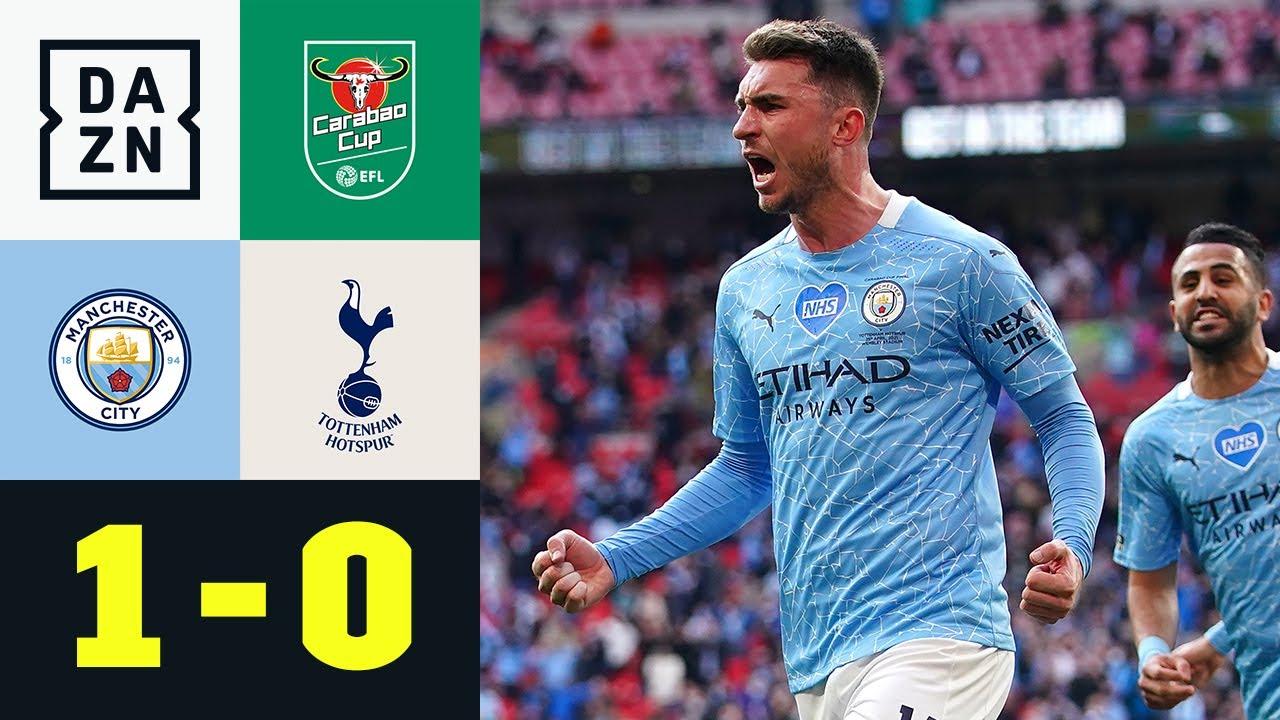 Laporte trifft! Citizens holen den Cup: Man City - Tottenham 1:0   Carabao Cup   DAZN Highlights