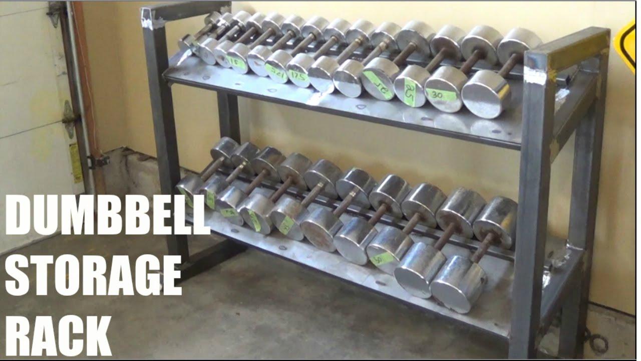 Custom Made Dumbbell Storage Rack
