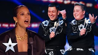 Unforgettable Audition: The Lozkha Brothers SPECTACULAR SPOON DANCE! | Britain's Got Talent