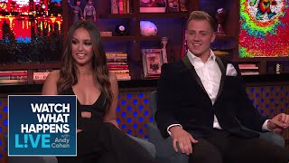 Lauren Cohen And Max Hagley Share Who They Would Never Work With Again | #BelowDeckMed | WWHL