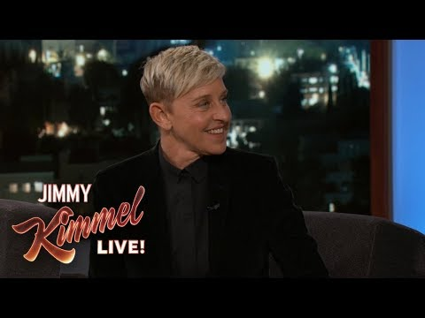Ellen DeGeneres Makes Fun of Jimmy Kimmel's Phone Case