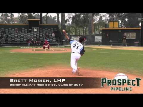 Brett Morien Prospect Video, LHP, Bishop Alemany High School Class of 2017