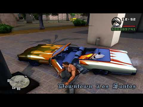GTA San Andreas (PC) Remastered; HD...