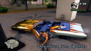 GTA San Andreas (PC) Remastered; HD Textures & HQ Models (1080p and ENB) Gameplay