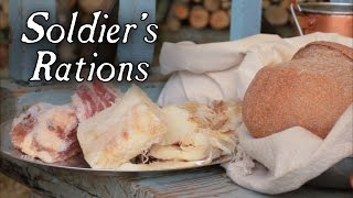 18th Century Soldier&#39s Rations - Cooking Series at Jas Townsend and Son S1E1