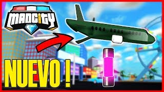 Wie MAN DIE NEUE MAD CITY AVION (Roblox) ROB