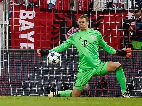 Amazing Saves Manuel Neuer VS Real Madrid UCL April 2017 - Amazing Soccer