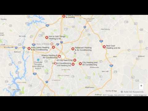 Air Conditioning Repair Charlotte NC via Google map - YouTube