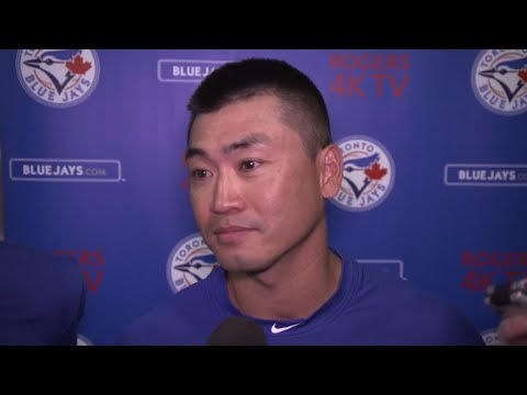 Aoki says Kawasaki reached out to him after trade to Toronto