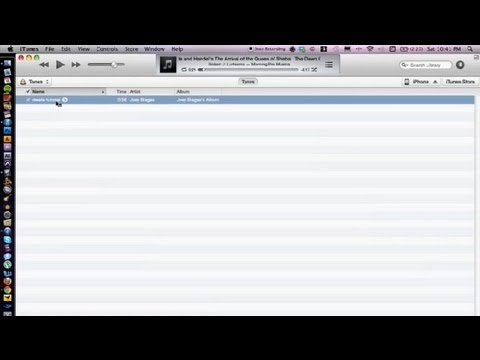how to make a tone itunes