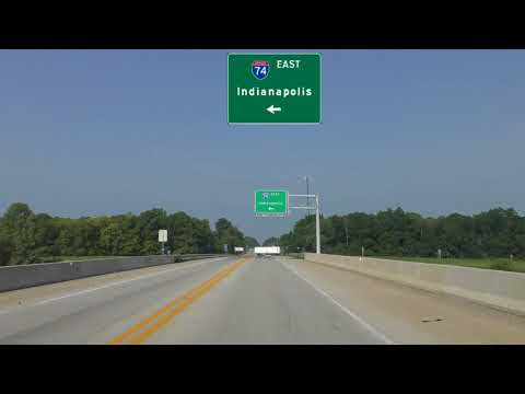Indianapolis To Crawfordsville, Indiana