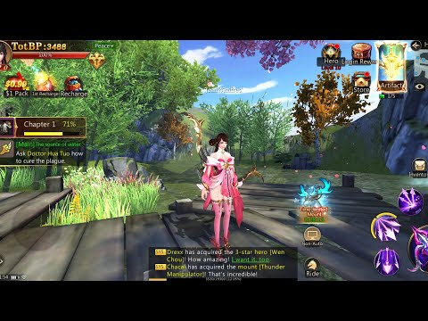 Dynasty Blade 2 ROTK Infinity Glory - Android MMORPG Gameplay