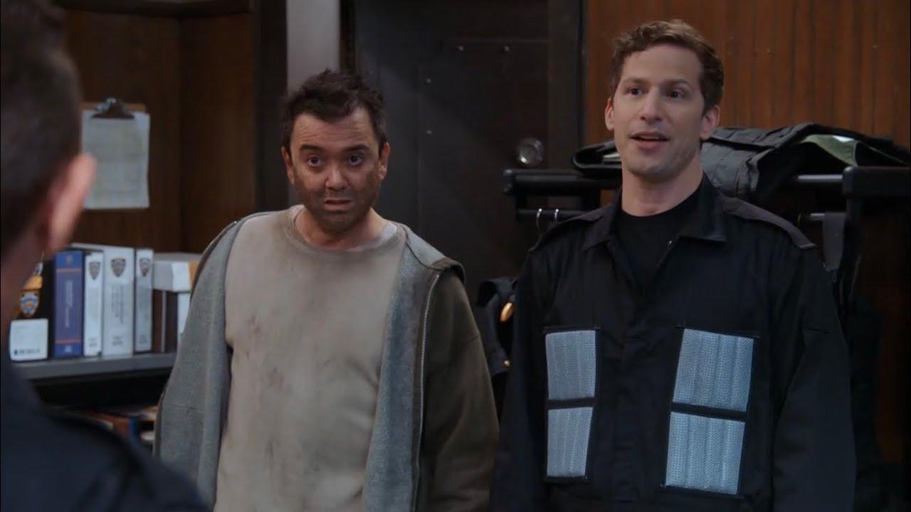 Download Bill Returns To Help Jake And Charles   Brooklyn 99 Season 8 Episode 10