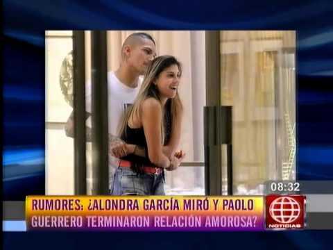 ¿Alondra García Miró se separó de Paolo Guerrero?