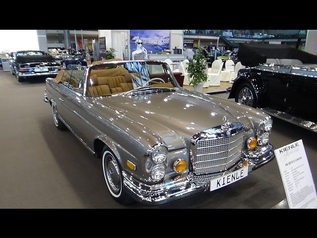 1971 Mercedes-Benz 280 SE 3.5 Cabriolet - Exterior and Interior - Retro Classics Stuttgart 2017