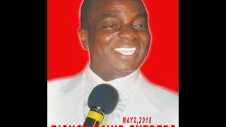 Bishop Oyedepo:The 34th Liberation Mandate Celebration May 2,2015 LIVE STREAM