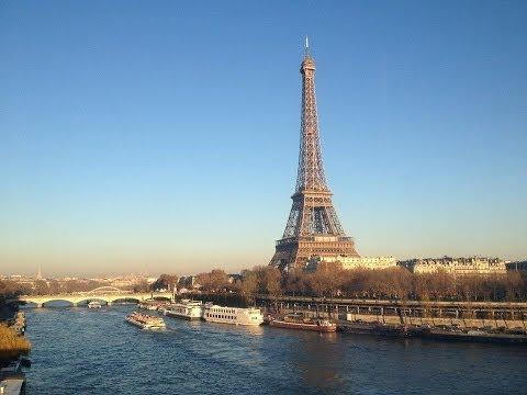 Paris Attractions Vlog December 2013