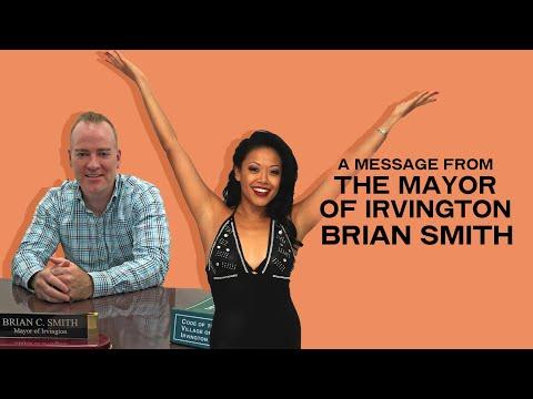 Irvington Mayor welcomes J. Elaine Marcos
